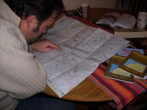 Plotting and charting the route